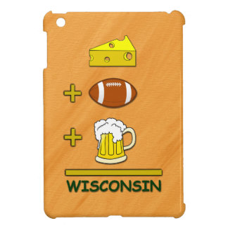 Cheese Plus Football Plus Beer Equals Wisconsin Cover For The iPad Mini