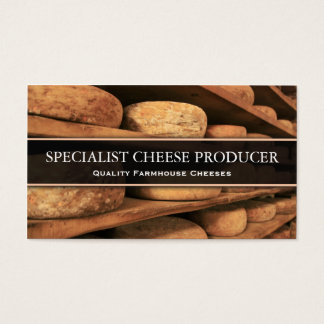 Cheese Producer / Maker Photo Business Card