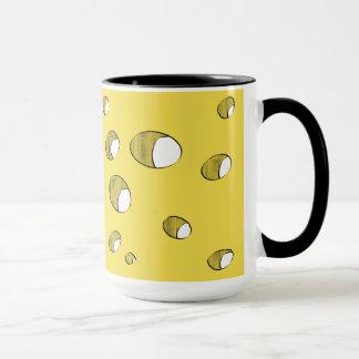 Cheese with holes mug