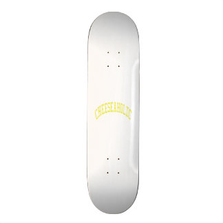 Cheeseaholic - Custom Background Color Skate Deck