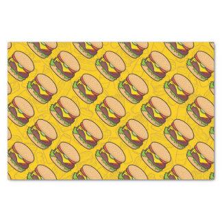 "Cheeseburger 10"" X 15"" Tissue Paper"