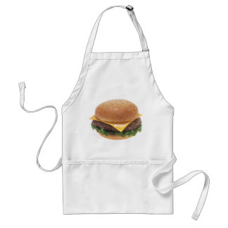 Cheeseburger Adult Apron