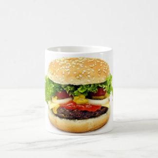 Cheeseburger Basic White Mug