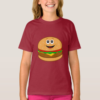 Cheeseburger Cartoon T-Shirt