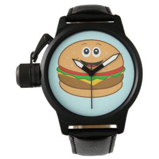 Cheeseburger Cartoon Watch