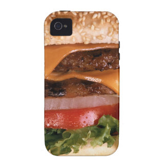 Cheeseburger Vibe iPhone 4 Cover