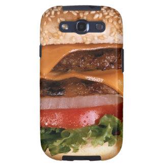 Cheeseburger Galaxy S3 Case