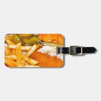 Cheeseburger! Cheeseburger! Travel Bag Tag