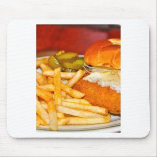 Cheeseburger Cheeseburger Mousepad