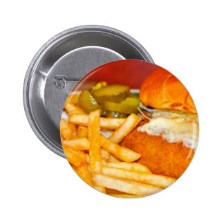 Cheeseburger! Cheeseburger! Pinback Buttons