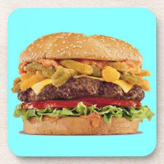 Cheeseburger Drink Coaster