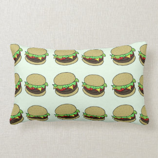 Cheeseburger Throw Pillows