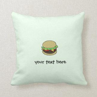 Cheeseburger Cushions
