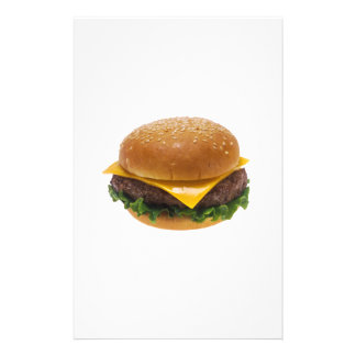 Cheeseburger Customized Stationery