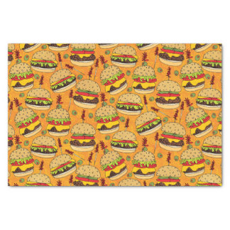 Cheeseburger Deluxe Tissue Paper