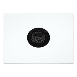 Cheeseburger Drawing Card
