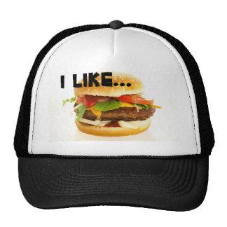 Cheeseburger Hats