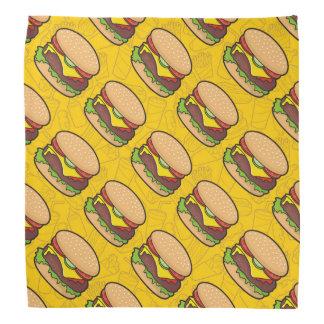 Cheeseburger Head Kerchiefs