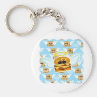 Cheeseburger Heaven Key Ring