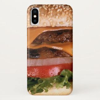 Cheeseburger iPhone X Case
