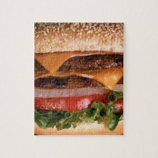 Cheeseburger Jigsaw Puzzle