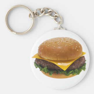 Cheeseburger Key Chain