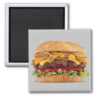 Cheeseburger Refrigerator Magnets