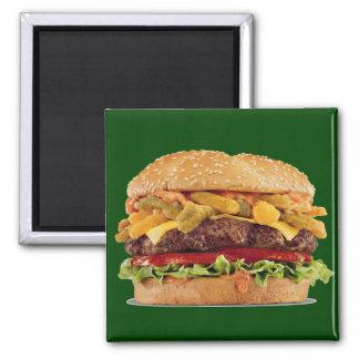 Cheeseburger Fridge Magnet