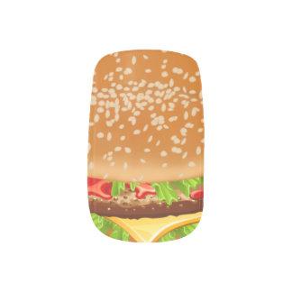 Cheeseburger Minx ® Nail Art