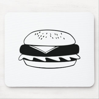 Cheeseburger Mouse Pads