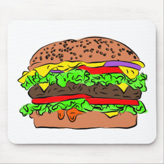 Cheeseburger Mouse Pad