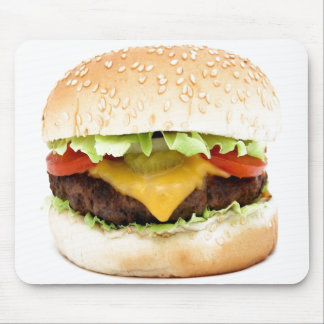 Cheeseburger Mousepad, Food Mouse Pad