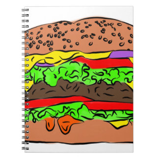 Cheeseburger Notebook