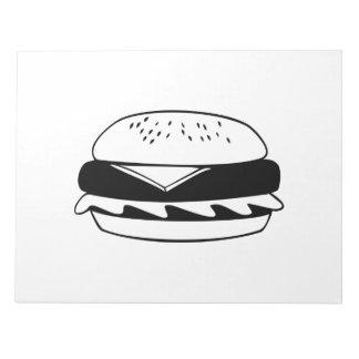 Cheeseburger Memo Notepad