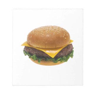 Cheeseburger Note Pads
