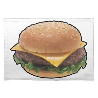 Cheeseburger Placemats