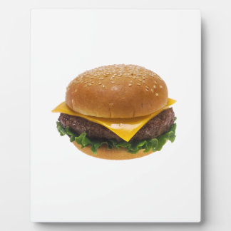 Cheeseburger Photo Plaque