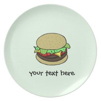 Cheeseburger Plates
