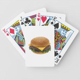 Cheeseburger Bicycle Poker Deck