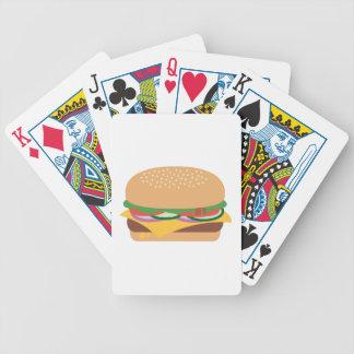 Cheeseburger Poker Deck