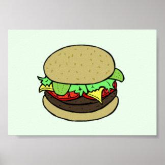 Cheeseburger Poster