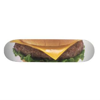 Cheeseburger Custom Skateboard