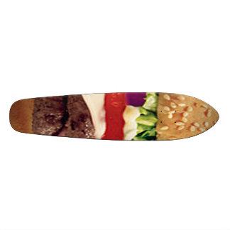 Cheeseburger Skateboard Oldschool