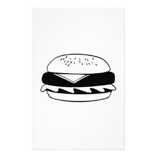 Cheeseburger Stationery