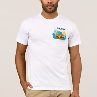 Cheeseburger T-shirt with Fries & Drink