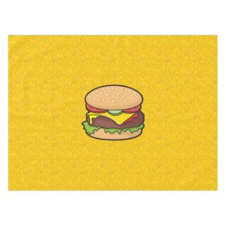 Cheeseburger Tablecloth