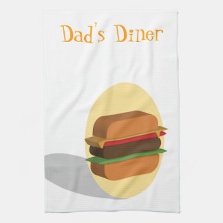 Cheeseburger Towels