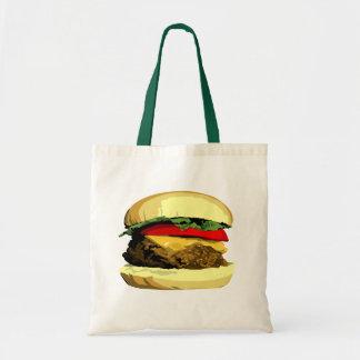 Cheeseburger tote
