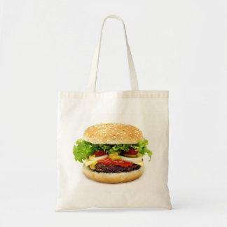 Cheeseburger Budget Tote Bag