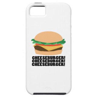 Cheeseburger Tough iPhone 5 Case